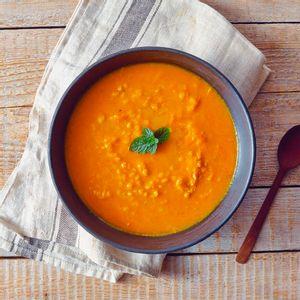 Sopa de Cenoura com Laranja e Gengibre -390g- Lucco Fit