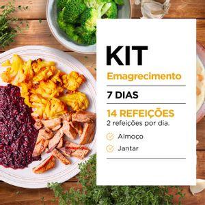 Kit Emagrecimento para 7 Dias - Almoço e Jantar - Lucco Fit
