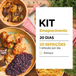 Kit Emagrecimento 20 dias - Almoço - Lucco Fit