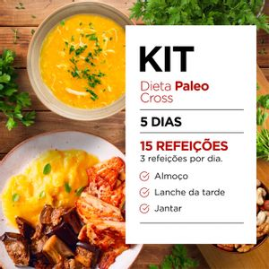 Kit Dieta Paleo [Cross]: Almoço, Jantar e Snacks - Lucco Fit