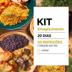 Kit Emagrecimento 20 dias Jantar - Lucco Fit