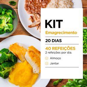 Kit Emagrecimento 20 dias: Almoço e Jantar - Lucco Fit