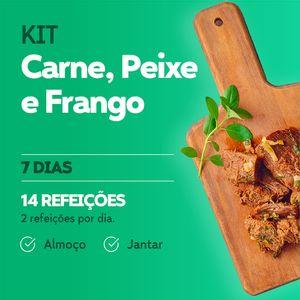 Kit Carne, Peixe e Frango - Almoço e Jantar - Lucco Fit