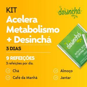 Kit Acelera Metabolismo 3 dias + Desinchá - Lucco Fit